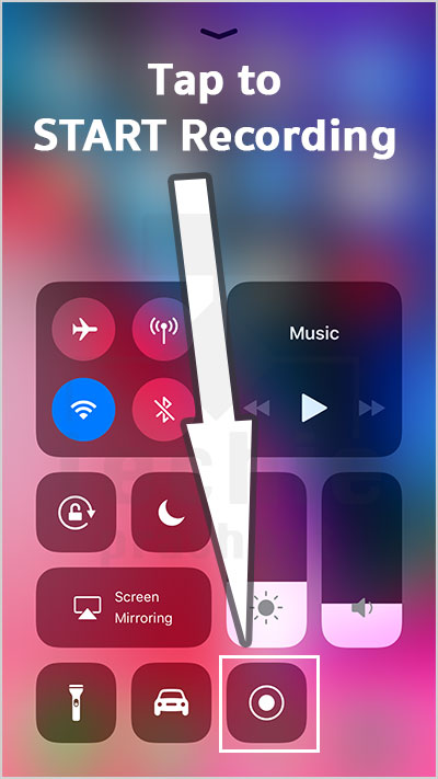 Record iPhone Screen Video iOS 11